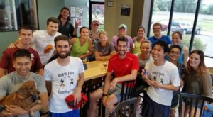 North FoCo Pub Runners at Snowbank Brewery